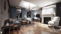 dom pod Lublinem - zdjęcie od Manufactura tworzenie przestrzeni - Salon - Styl Eklektyczny - Manufactura tworzenie przestrzeni