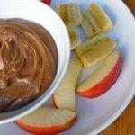 Weight Watchers Creamy Chocolate Peanut Butter Fruit Dip