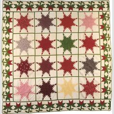 Surprise Quilt Presented to Mary A. Grow: Plymouth Michigan, 1856 | In the Swan's Shadow