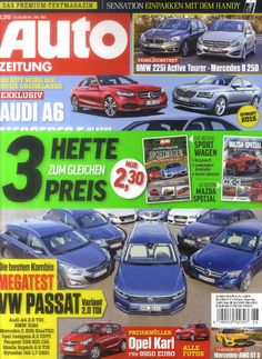 Die neue AUTO Zeitung am 4. Dezember 2014