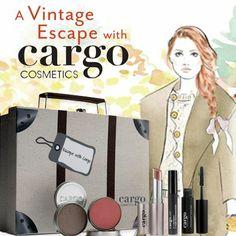 CARGO Cosmetics Vintage Escape Kit! Cargo Cosmetics, Kit, Vintage, Vintage Comics
