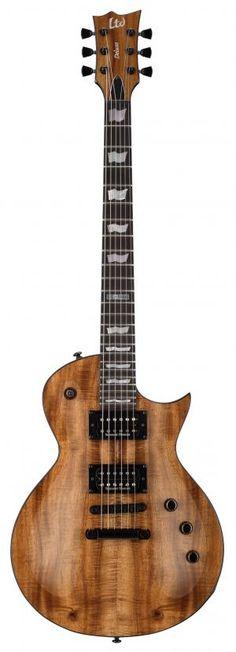 "Summer NAMM 2015: ESP Guitars Adds Exotic Koa Tops to LTD Deluxe ""1000 Series"" Models | Guitar World"