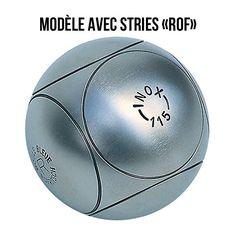 Boule de pétanque  en acier inoxydable TENDRE         Sans entretien - Très bon amorti - 115 kg/mm 2          Voici des  boules de pétanque  idéales pour joueurs chevronnés ou amateurs. Un achat pour la vie ! Apportez ce jeu pour vos  vacances  ( Un vrai jeu de boules ), son Inox vous garantit une boule sans entretien. Ajoutez à cela notre  coffret bois  ou  une sacoche  pour stocker parfaitement votre jeu !               Jeu de 3 boules -    Personnalisez avec 13 modèles de stries disp...
