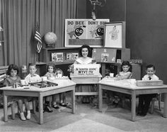 Romper Room TV show. I LOVED this show! Waited every morning for her to look through the magic mirror and call my name!