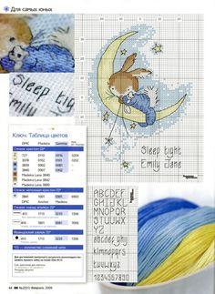 Sleep tight...bunny on moon Gallery.ru / Фото #33 - ВК_02(51)_2009 г. - f-morgan