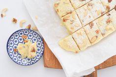 Witte chocoladefudge   Wimke   DIY   Recepten   Uittips