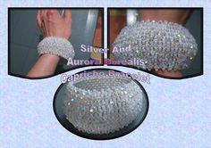 SALE Gorgeous Handmade Silver Bead and Aurora Borealis Capricho bracelet by BeadBoutiquebyLou, £25.00
