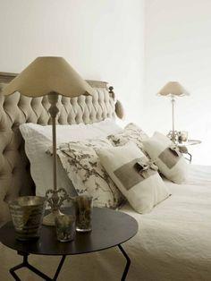 Pretty bedroom detailing  ~ lovingly repinned by www.skipperwoodhome.co.uk