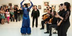 Música e passos do flamenco embalam homenagem a Bernardo Caro e 50 anos do MACC | Agência Social de Notícias
