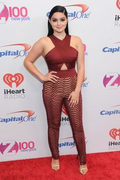 Ariel Winter Photos - Actress Ariel Winter attends Jingle Ball 2015 at Madison Square Garden on December 2015 in New York City. Ariel Winter Hot, Arial Winter, Casual Jumpsuit, Winter Photos, Fashion Gallery, Women's Fashion, Night Looks, Beautiful Celebrities, Beautiful Women