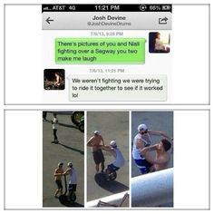 THIS IS WHAT ACTUALLY OCCURRED regarding this photo.  They're WERE NOT fighting over it, as some pinners have posted!