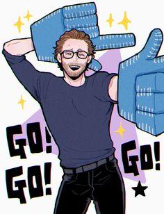Loki Art, Thor X Loki, Loki Marvel, Marvel Comics, Thomas William Hiddleston, Tom Hiddleston Loki, Loki Drawing, Chibi, Avengers