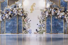 Destination Wedding Event Planning Ideas and Tips Wedding Backdrop Design, Wedding Stage Design, Wedding Stage Decorations, Engagement Decorations, Wedding Designs, Blue Wedding, Wedding Flowers, Dream Wedding, Wedding Day