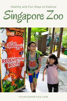 Singapore Zoo is the world's best rainforest zoo. It is a place to explore and learn, it caters to your stomach too with healthy breakfast added to the menu. Check out what the kids enjoy at the zoo!