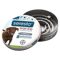 Bayer Seresto Flea and Tick Collar for Large Dogs, 8 Mont... https://www.amazon.com/dp/B00B8CG602/ref=cm_sw_r_pi_dp_x_X8Qfyb6A5N1C3