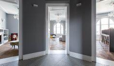 Se hvad farver kan gøre! Klassisk bolig får moderne makeover