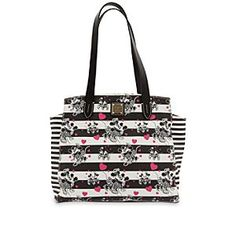 Disney Mickey and Minnie Mouse Sweethearts Shopper Bag by Dooney & Bourke   Disney StoreMickey and Minnie Mouse Sweethearts Shopper Bag by Dooney & Bourke - Love is all around as Minnie and Mickey share some romantic moments on this Shopper Bag by Dooney & Bourke. The all-leather design features the Sweethearts print with Minnie and Mickey, so love will be with you wherever you go.