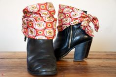 DIY SHOE CLIPS #3 : FOULARD | Clones N Clowns by Aimee Wood