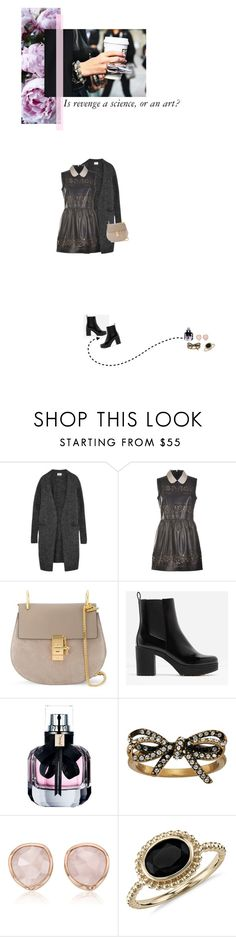"""""""Love me now"""" by flowy ❤ liked on Polyvore featuring Acne Studios, Chloé, CHARLES & KEITH, Yves Saint Laurent, Marc Jacobs, Monica Vinader and Blue Nile"""