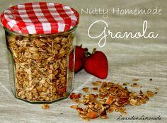 Nutty Homemade Granola