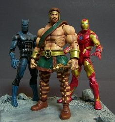 Hercules (Marvel Legends) Custom Action Figure by Stevid Base figure : MOTU