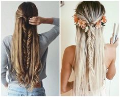 ¿Tienes el cabello largo? Quizá tienes la dificultad de arreglarlo para que no luzca sin control. Aquí te damos ocho formas de hacer peinados con trenzas.
