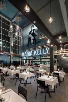 MaMa Kelly by De Horeca Fabriek ♡ Innsides #interiordesign #restaurant