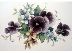 Wonderful springtime purple pansies. Order # Size # of Decals on Sheet Sheet…