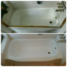 "Bathtub reglazing is not a ""DIY"" job. But when you try anyway a professional can make it right!"