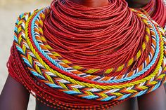 Adornments of the Samburu people