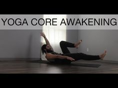 ▶ Wake Up Your Core! Yoga with Patrick Beach - YouTube