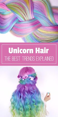 Unicorn Hair, Don't Care! Have you considered sporting vibrant #UnicornHair this Summer? We have compiled a list of the most magical hair trends.