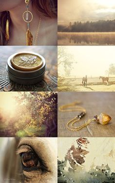 late summer sunlight :: treasury by BelleAccessoires.etsy.com :: #summer #fall #autumn #light #sun #boho #fashion #jewelry