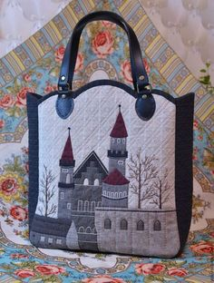 Buy or order Tote bag 'Old bag' – Bag World Japanese Patchwork, Japanese Bag, Patchwork Bags, Quilted Bag, Quilting Projects, Sewing Projects, Bag Quilt, Denim Bag, Fabric Bags
