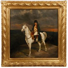 """19th C. O/C After Meissonier, """"Napoleon I in 1814"""""""