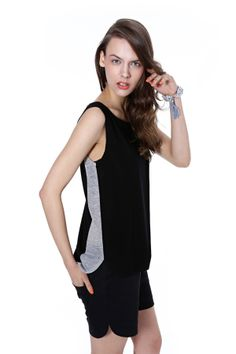 Spring/summer 2014, viscose top. Summer 2014, Spring Summer, Sports Luxe, Basic Tank Top, Clothes For Women, Tank Tops, Model, Collection, Fashion