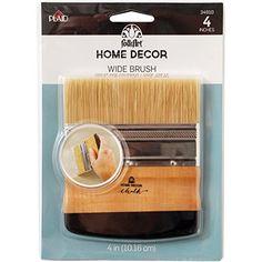 FolkArt Home Decor Chalk Wide Brush, 34910 FolkArt