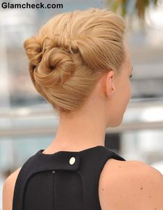 Carey Mulligan Bun Hairstyles at Cannes 2013
