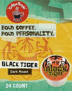 BLACK TIGER K CUP COFFEE 120 COUNT -- Click image to review more details. (This is an affiliate link) #CapsulesPods