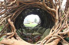 Back to the Nest: Artist Jayson Fann Makes Human-Sized Bird Nests