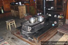 Stove is very significant for Tibetan people's life. Every night the family sit around the stove and talk about the life.