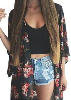 Buy Her Roses Kimono