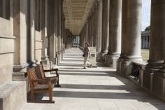 Along the colonnades at the Old Royal Naval College Old Things, College, University, Community College