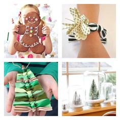 Creative Christmas Kids' Crafts and Gifts to Make.