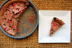 Chocolate Peppermint Protein Cheesecake