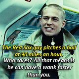 Hahaha another fantastic line. <3 Although I disagree my love...I love baseball. <3