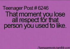 always happens..