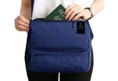 NIBESSER Multifunction Travel Bag Wire Electronic USB Digital Cable Bag for Phone Ipad Business Portable Book Bag Card Pouch