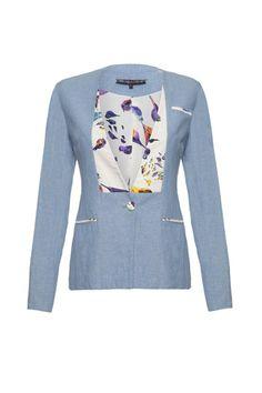 Carrie chambray jacket by Wondaland