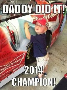 Kevin Harvick, 2014 Sprint Cup Champion